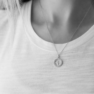 Miraculous Mary Necklace | 925 Silver
